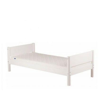 80-17102-40 FLEXA WHITE Bed incl. lattenbodem. (matrasmaat 90 x 200 cm.) Kleur: Wit.